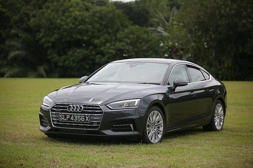 Day-to-day driving with the A5 Sportback is breezy. Its infotainment system is packed with features and the car has 460 litres of luggage space with all seats in use.