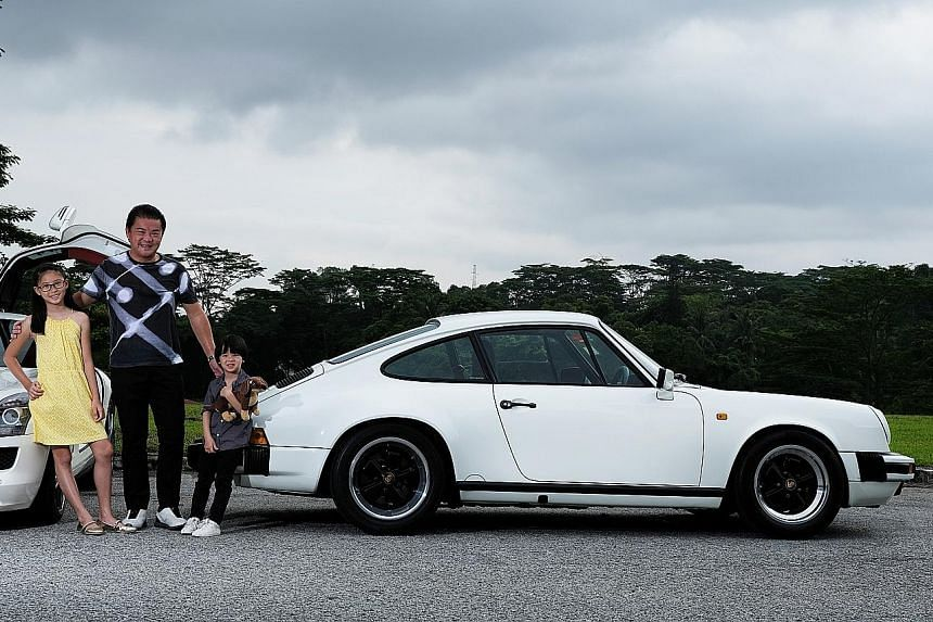 Racer Ringo Chong intends to hand over his Porsche 911 Carrera 3.2 G Model to his 10-year-old daughter Renee and four-year- old son Rainier.