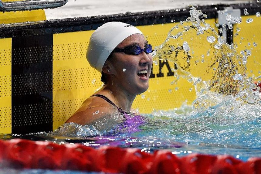 Swimmer Quah Jing Wen won Singapore's 44th gold medal at the 2017 SEA Games when she claimed the women's 100m butterfly title.