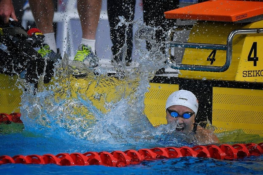 Sixteen-year-old Quah Jing Wen's victory in the women's 100m butterfly final delivered the 44th gold, while swimmer Amanda Lim and the men's 4x100m medley relay team took the Republic's tally to 46 golds.