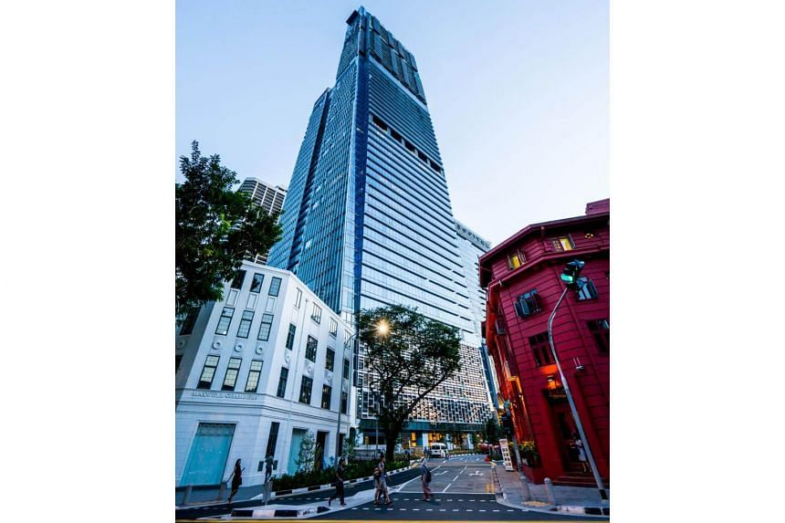 The increase was mainly driven by a significant increase in the fair value of Tanjong Pagar Centre's Guoco Tower.