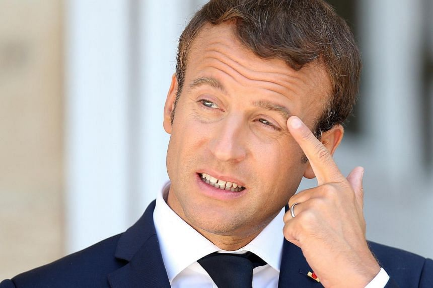 French president Emmanuel Macron has suffered a number of setbacks since being elected, including tough debates in parliament.