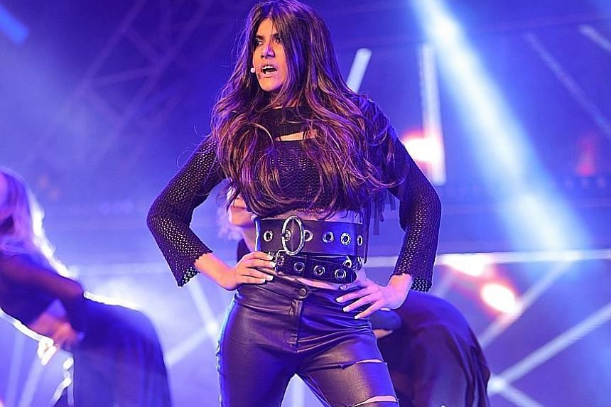Ananya Birla, during the launch (above) of her first international debut single, Livin' The Life, is signed to Universal Music Group India and has two singles under her belt.