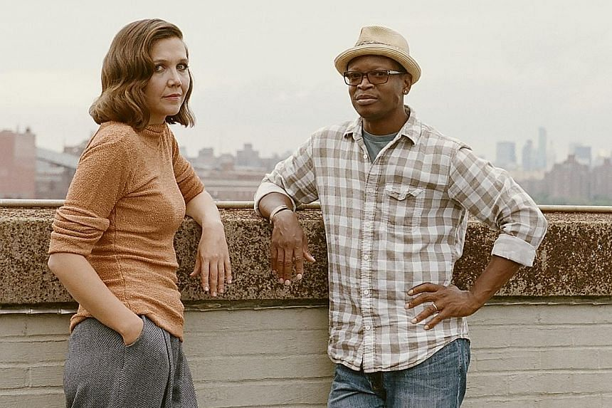 Maggie Gyllenhaal plays a prostitute and Lawrence Gilliard Jr a police officer in The Deuce.