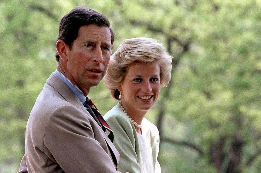 The royal couple in 1990. They divorced in 1996 after their fairy-tale marriage fell apart, and Princess Diana was killed in a car crash in Paris a year later. Prince Charles remarried in 2005.