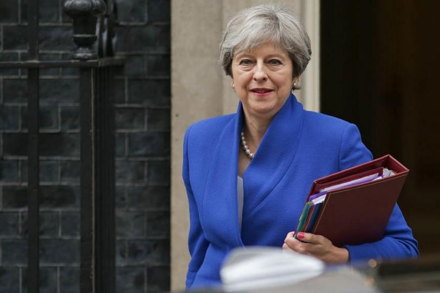 Britain's Prime Minister Theresa May is under pressure from opposition Labour Party and EU as Brexit talks resume on Aug 28, 2017.