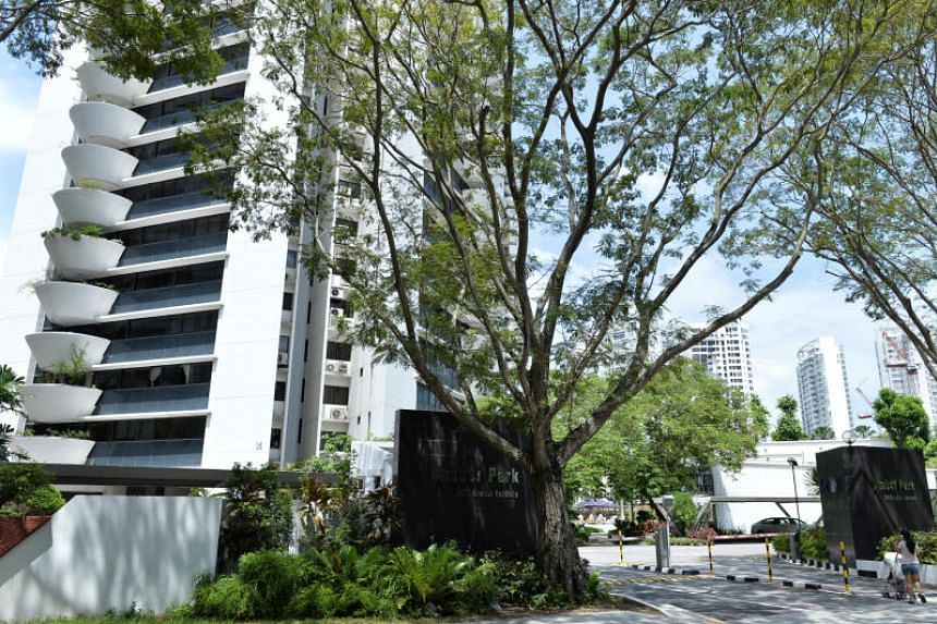 En-bloc fever: Amber Park condominium in Katong is the latest property put up for sale by its owners.