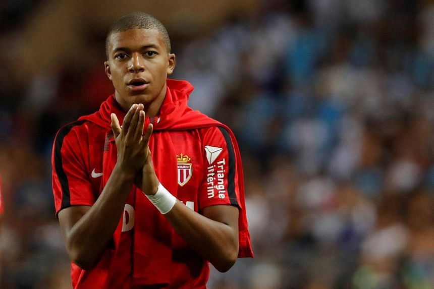 Kylian Mbappe made his full international debut for France in March and has so far won four caps.