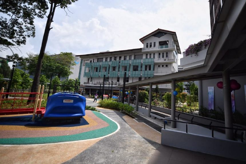 St Joseph's Home in Jurong West.