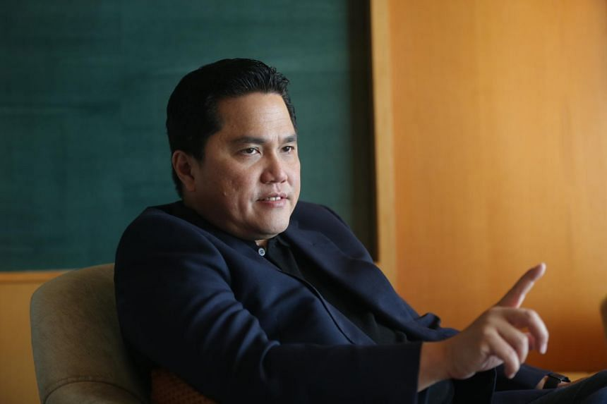 Inter Milan chairman Erick Thohir explained his error earlier in August, saying it was a slip of the tongue.