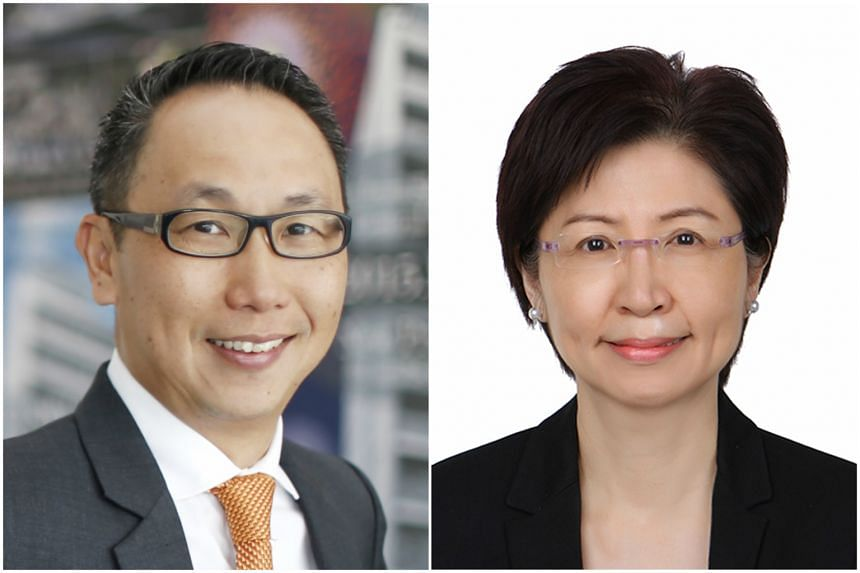 OrangeTee managing director Steven Tan and Edmund Tie & Company Property Network's chief executive Ong Choon Fah.