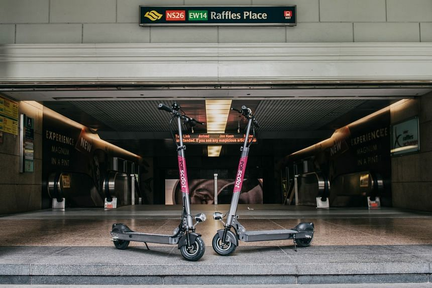 Singapore-based company PopScoot, started in April this year, will bring the service to downtown commercial clusters and the heartland in September.