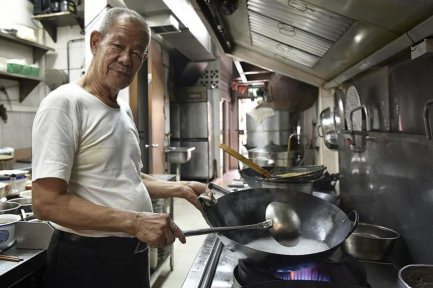 Mr Cheong Weng Kee often worked 12-hour days at his restaurant.