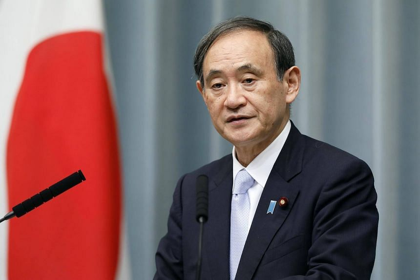 Japan's Chief Cabinet Secretary Yoshihide Suga said on Tuesday that North Korea's latest missile launch was a threat that Tokyo would respond to firmly.