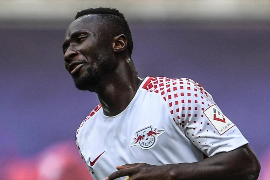 Leipzig's Naby Keita in action during the German Bundesliga soccer match between RB Leipzig and SC Freiburg in Leipzig, Germany on Aug 27, 2017.