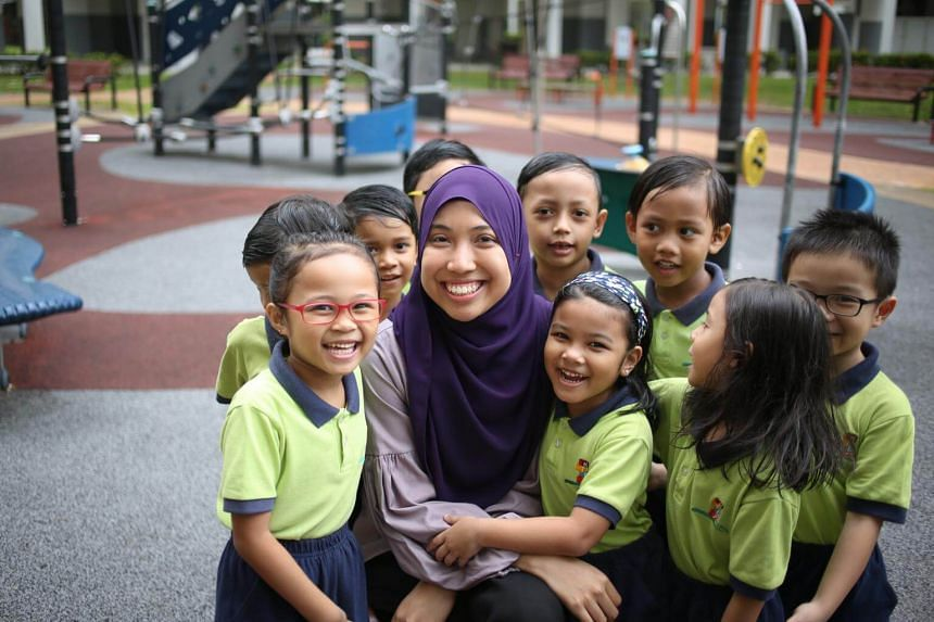 """For the first time, Early Childhood (EC) educators across the sector like """"Teacher Sha"""" at Kidz Meadow Centre will enjoy a day off on Teachers' Day, which falls on 31 August this year."""