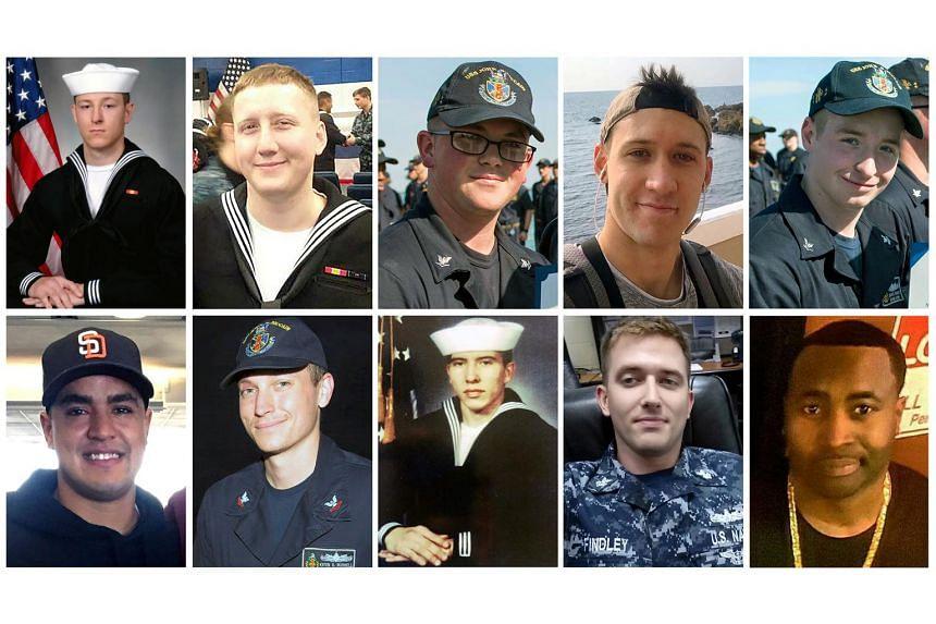 The fallen sailors