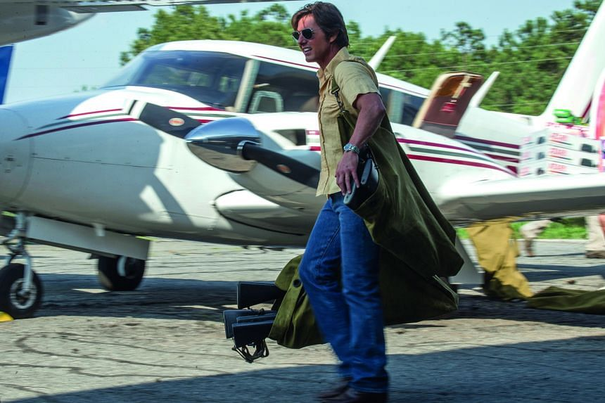 Tom Cruise, a licensed pilot, did all the flying in the movie, says director Doug Liman.