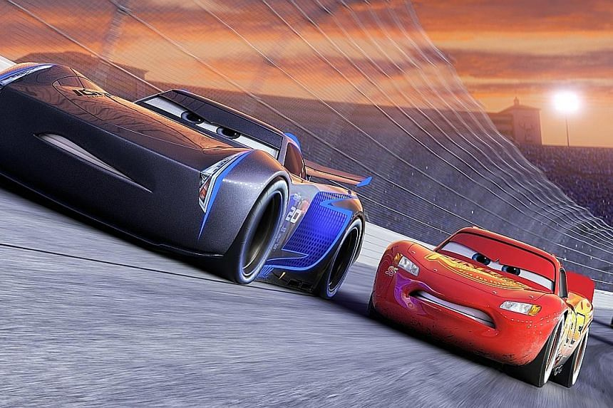 Cars 3 wants to be a stirring comeback tale of a champion racing car that is not quite done yet, but it is hard to care deeply for talking vehicles.