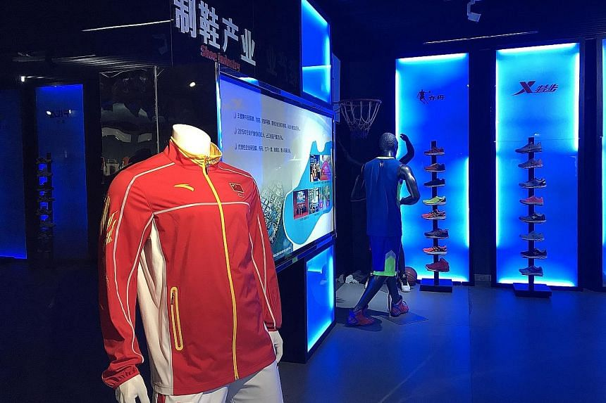 Anta is one of several companies in China that are eyeing a bigger share of the growing sportswear market. Last year, it established a joint venture with Japanese company Descente to open 10 stores in China.