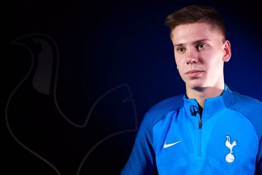 Juan Foyth in an interview with Spurs TV online.