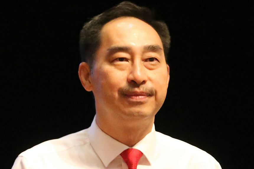 """Education Ministry director-general of education Wong Siew Hoong did not refer to the Pisa rankings in his speech. Instead, he said that the literacy levels of Singapore students have """"improved tremendously""""."""