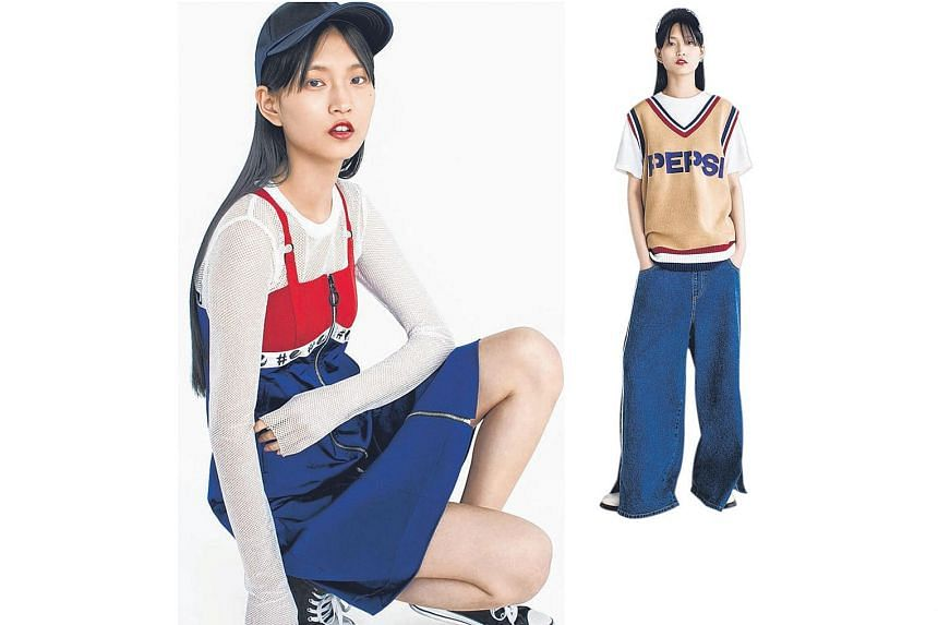 Peace Bird Fashion scores a hit with its Pepsi-themed (above) clothing collection, which is clued into youth culture and social media trends.