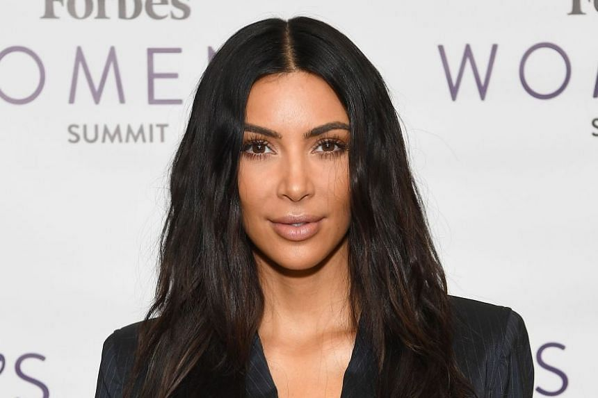 Kim Kardashian (above), her sisters Khloe and Kourtney and mum Kris Jenner made the pledges on Twitter.