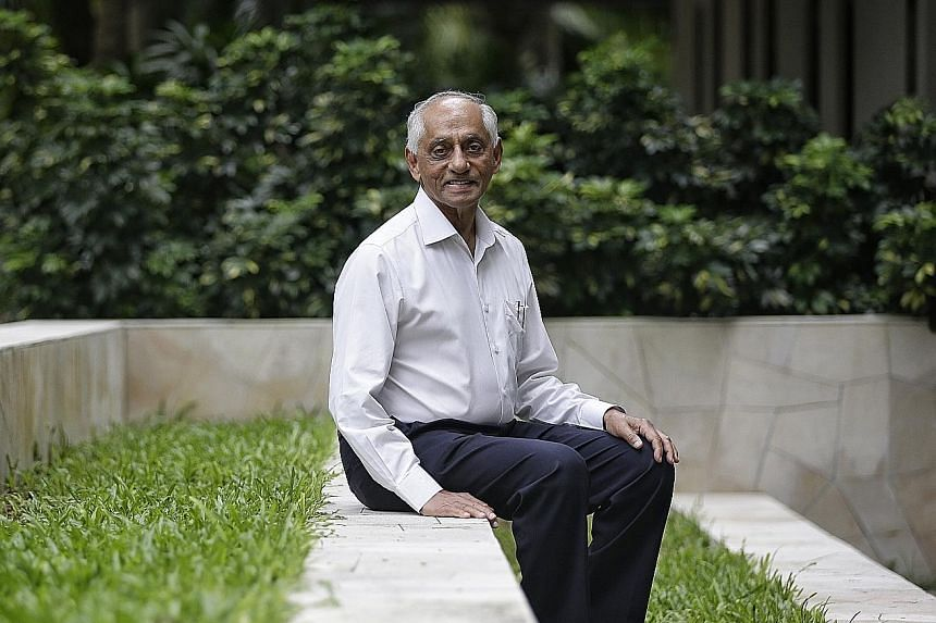 """CPA chairman J.Y. Pillay (left) and member S. Dhanabalan said the council did not face any """"borderline"""" decisions during Dr Tan's six years in office."""