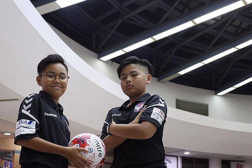 Danial Feroz of Swiss Cottage Secondary and Tan Yu Hen of Hong Kah Secondary were picked for a one-week football training and cultural experience in Niigata, where the parent club of S-League champions Albirex Niigata is based.