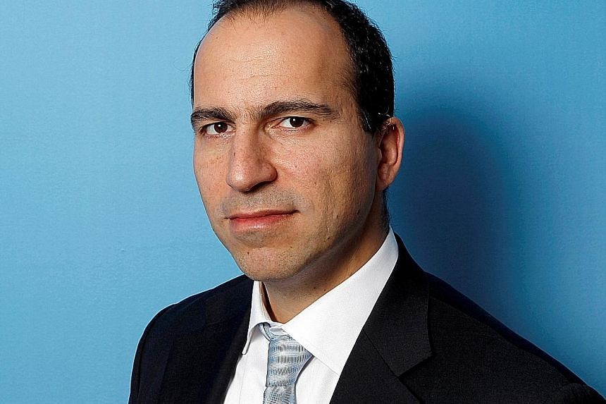 Mr Dara Khosrowshahi (above) made Expedia the largest online travel agency by bookings. He is facing a long list of challenges as ride-hailing firm Uber's new CEO as the company is losing hundreds of millions a quarter.