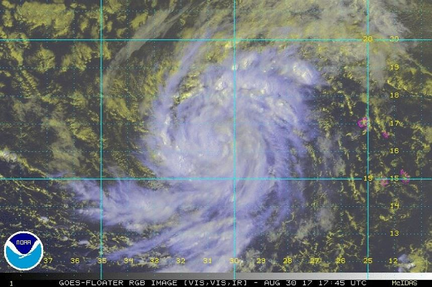 Irma (above) is expected to become a hurricane.