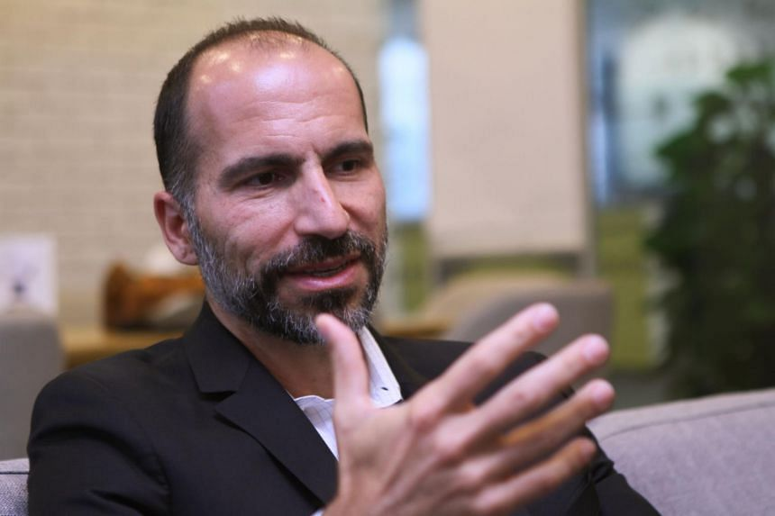 "Dara Khosrowshahi said Uber needed to stabilize itself but also take what he called ""big shots."""