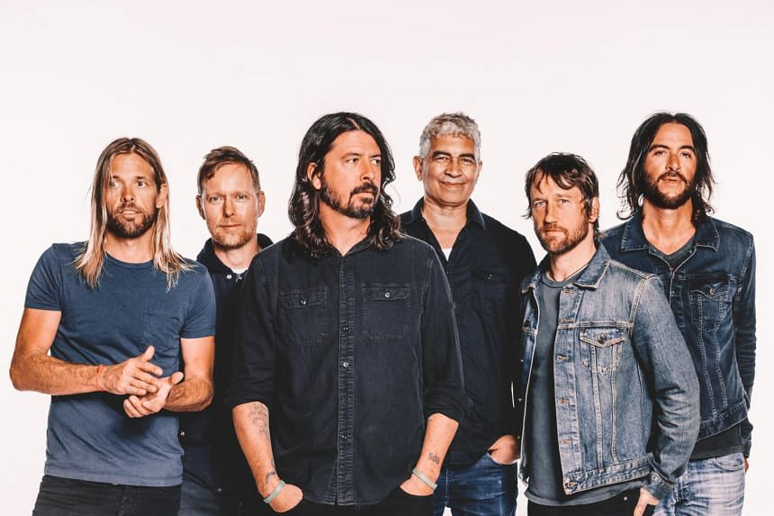 The Foo Fighters' new album will be released on Sept 15.