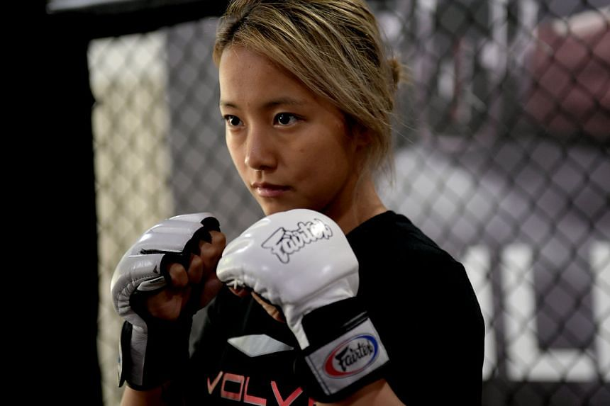 Evolve was on the look out for talents and invited Song Ka Yeon to come to Singapore for a two-week trial. ST PHOTO: JAMIE KOH