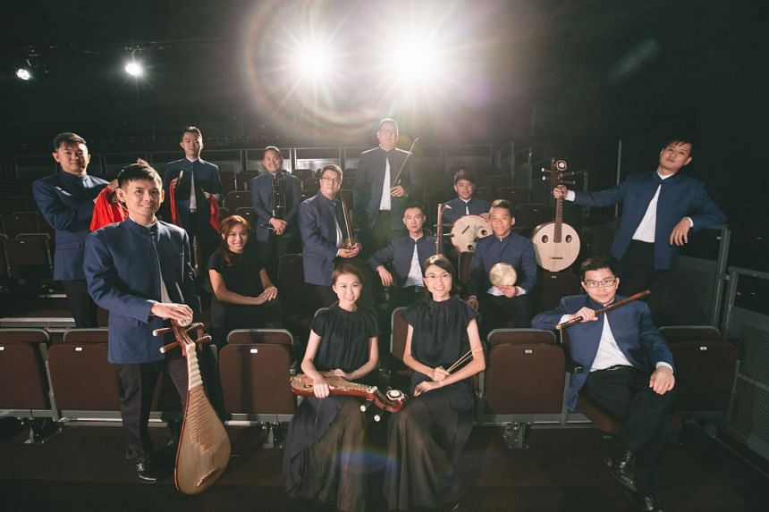 Singapore's Chinese chamber music group Ding Yi and Western woodwinds chamber music group Fantasia Quintet from Finland