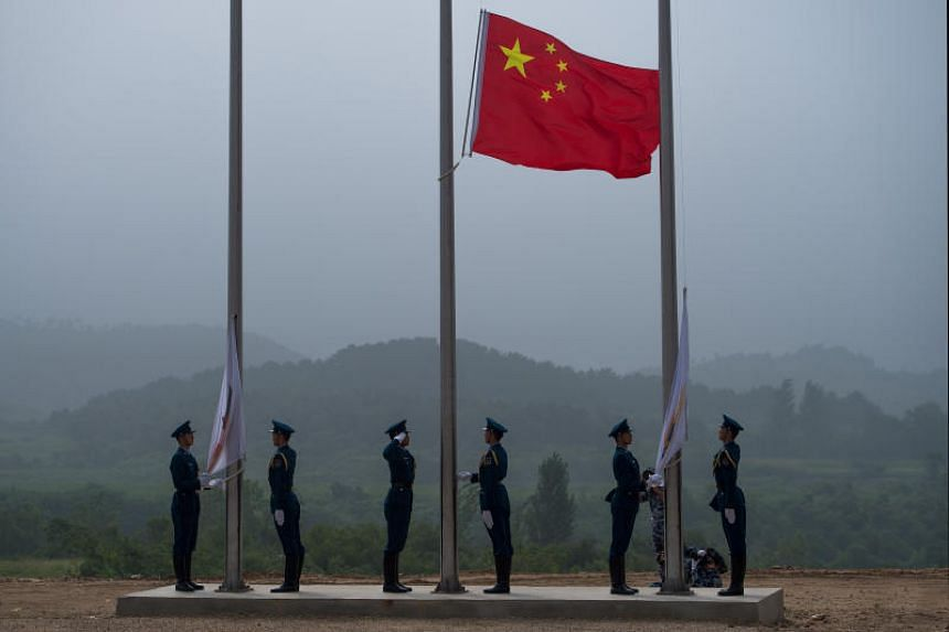 """China has banned the use of the country's national anthem as background music, in advertisements, at funerals and on other """"inappropriate occasions"""", and prescribes administrative detention for any """"distorted"""" or """"mocking"""" renditions."""