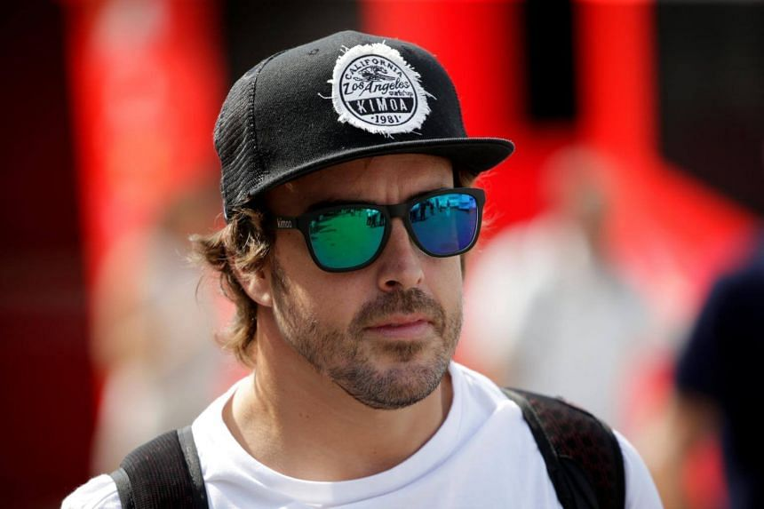 McLaren's Fernando Alonso will start at the back of the 20-car grid for the last European race of the season.
