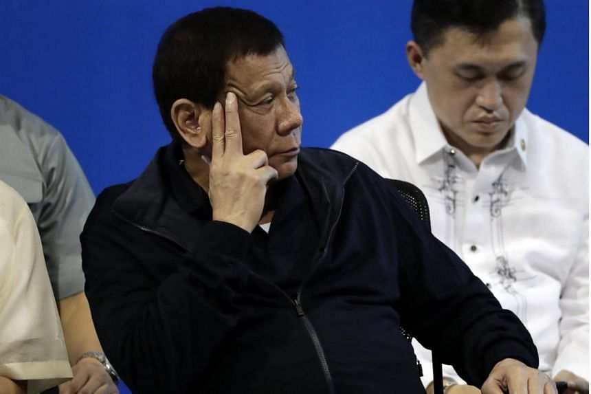 Philippine President Rodrigo Duterte signed the new Republic Act, which imposes jail terms and fines on those who publish false news, on Aug 29.
