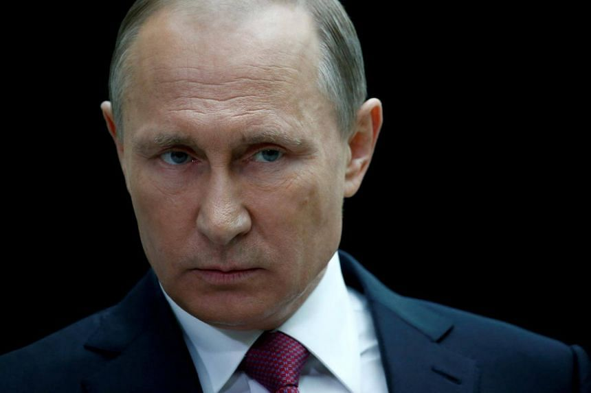 """Russian President Vladimir Putin said: """"The problems in the region will only be solved via direct dialogue between all concerned parties, without preconditions."""""""