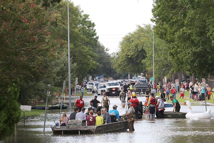 Some 779,000 Texans have been ordered to evacuate their homes, and another 980,000 fled voluntarily.