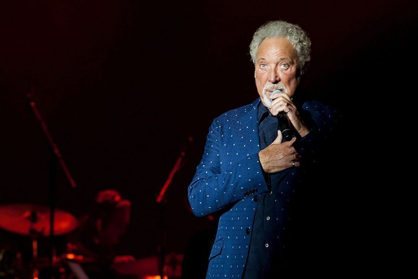 Tom Jones (above), 77, was due to begin his American tour on Sept 6.