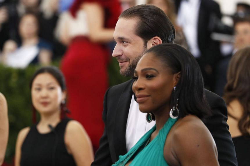 Serena Williams and Alexis Ohanian in May 2017.
