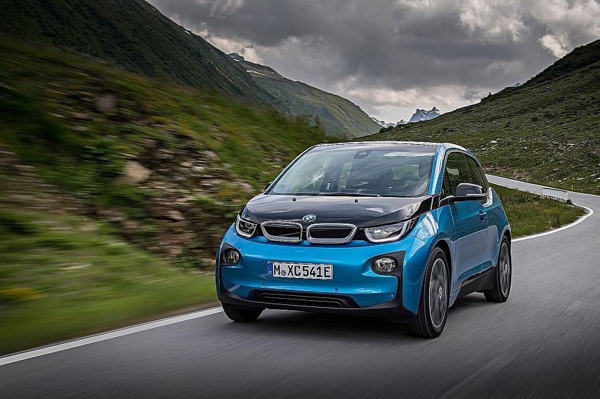 BMW will make its bug-like i3 electric car look more sporty and less squat.