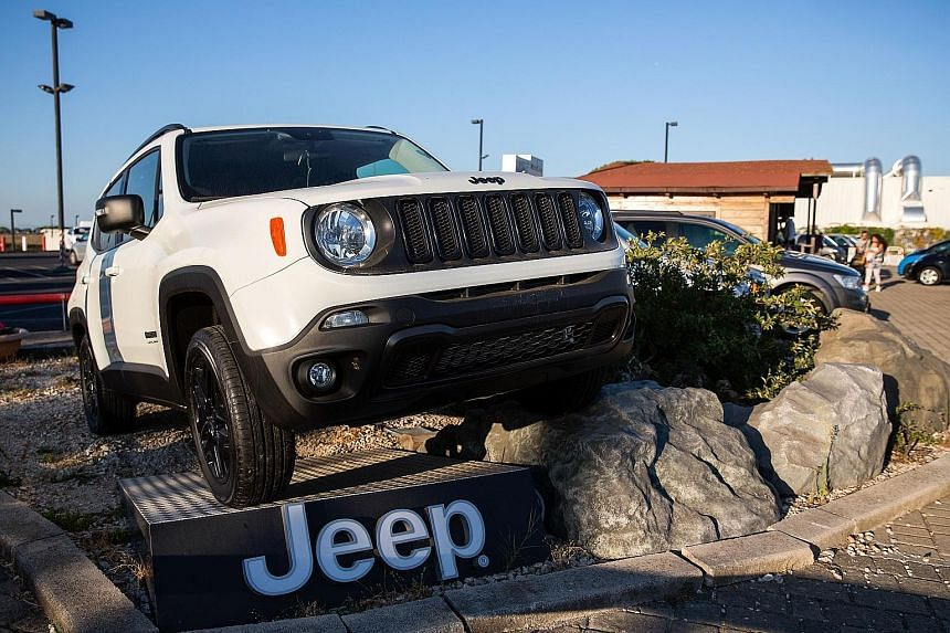 The Jeep Renegade sport utility vehicle is part of Fiat Chrysler's expansion plans.