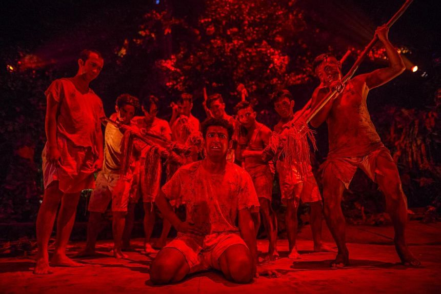 Lord Of The Flies, based on the 1954 book by William Golding, is adapted for the stage by Samantha Scott-Blackhall, who localises it by imagining the characters as Singaporean.