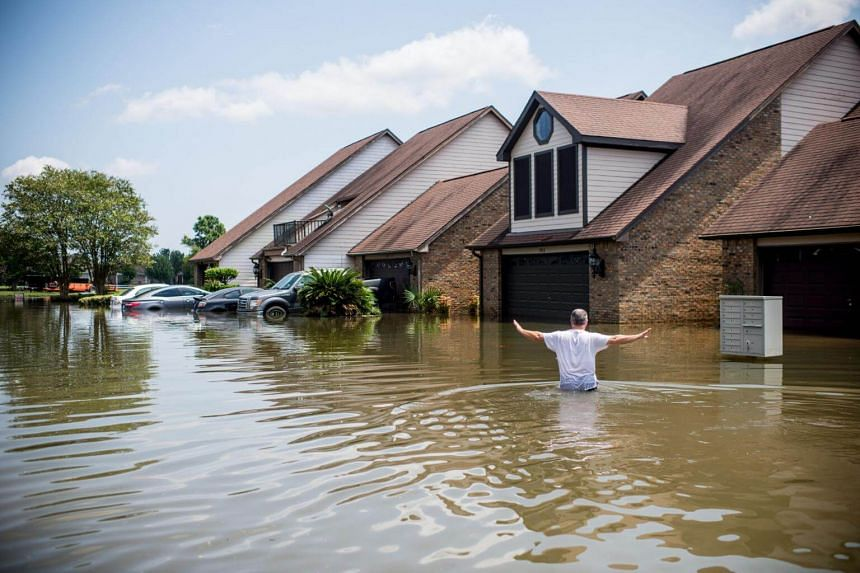 Storm-weary residents of Houston and other Texas cities begin returning home to assess flood damage from Hurricane Harvey.