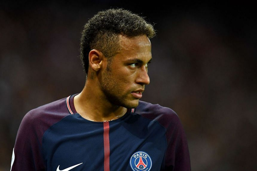 The deal to sign Neymar (above) broke the world transfer record.
