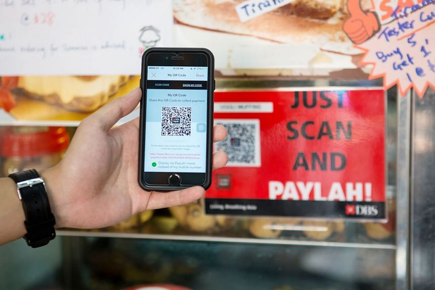 Over the past few months, DBS has been encouraging hawker stalls, wet-market vendors and neighbourhood stores to adopt its PayLah QR codes.
