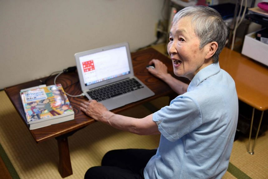 Ms Masako Wakamiya created her first iPhone app at age 81 because she wanted to give other seniors something fun to enjoy on their smartphones or tablets.